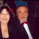 Богдан Ступка з дружиною Ларисою Семенівною.