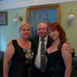 З дружиною Іриною і дочкою Ганною