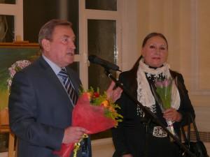 Володимир Мельниченко та Лариса Кадочникова