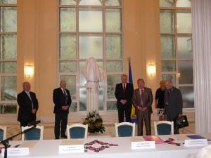 Зліва направо: Сергій Гальченко, Микола Жулинський, Володимир Єльченко, Володимир Мельниченко, Юрій Барабаш