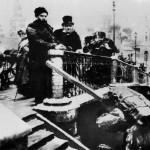 М. Хмелько. Т. Шевченко і М. Щепкін у Москві. 1956 р.