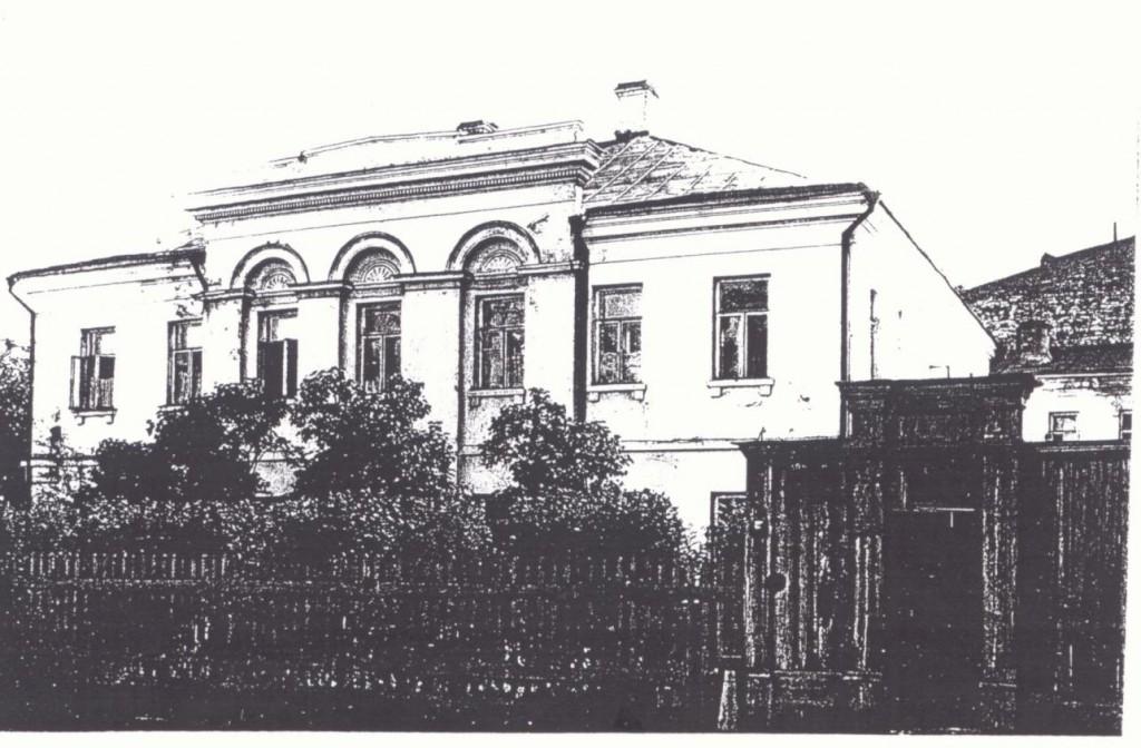 Будинок Щепотьєвої, в якому з 11 по 26 березня 1858 р. Шевченко жив у М. Щепила. 1840-і рр.