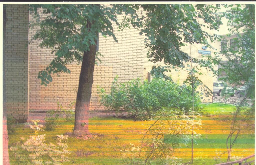 Місце біля нинішнього будинку 126 по Старопименовському провулку, де автор пропонує поставити пам'ятник Т. Шевченку і М. Щепкіну