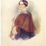 Л. Фішер. Портрет В. Рєпніної. 1858 р.