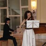 Анастасія Ведякова та Казукі Нісімон