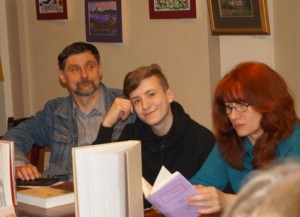 Андрій Пустогаров, Арсен Шахбанов, Олена Шахбанова